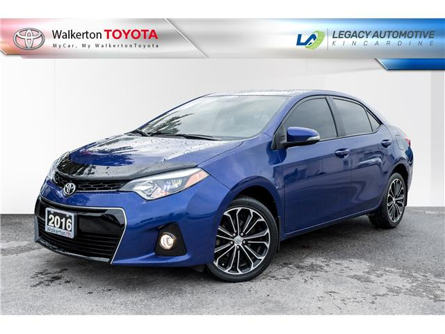2016 Toyota Corolla S (Stk: P8149) in Walkerton - Image 1 of 23