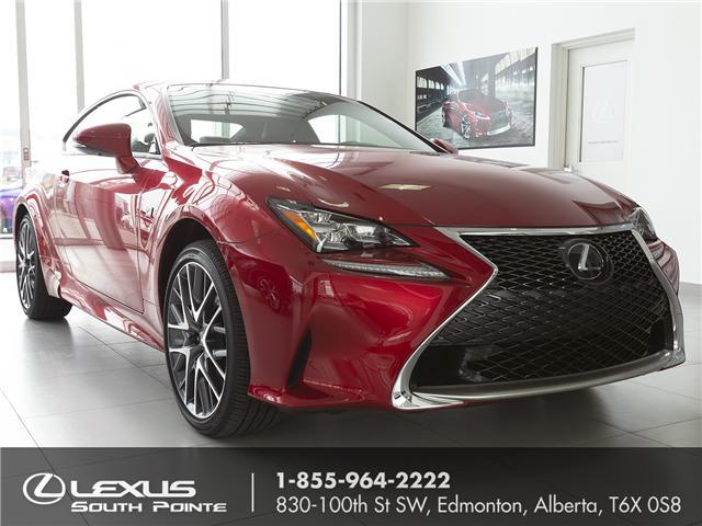 2018 Lexus RC 300 Base (Stk: L800509) in Edmonton - Image 1 of 21