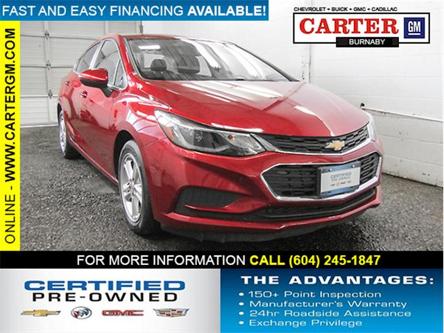 2017 Chevrolet Cruze LT Auto (Stk: E8-00891) in Burnaby - Image 1 of 24
