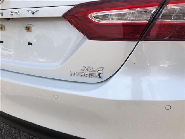 2018 Toyota Camry Hybrid XLE (Stk: 66864A) in Vaughan - Image 11 of 28