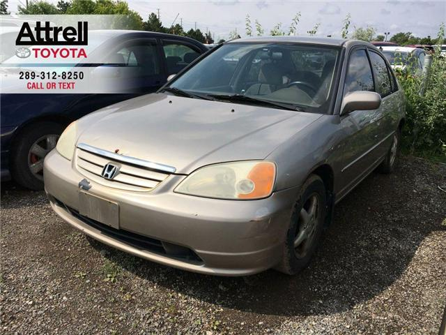 2001 Honda Civic LX-G ALLOY WHEELS, POWER GROUP, ABS, 4 DOOR (Stk: 40727XA) in Brampton - Image 1 of 7