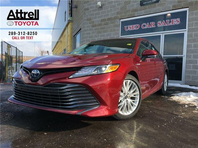 2018 Toyota Camry HYBRID XLE (Stk: 39063) in Brampton - Image 1 of 27