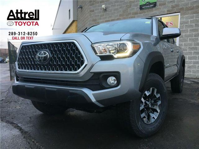 2018 Toyota Tacoma DOUBLE CAB TRD-OFF ROAD SHORT BOX (Stk: 40106) in Brampton - Image 1 of 26