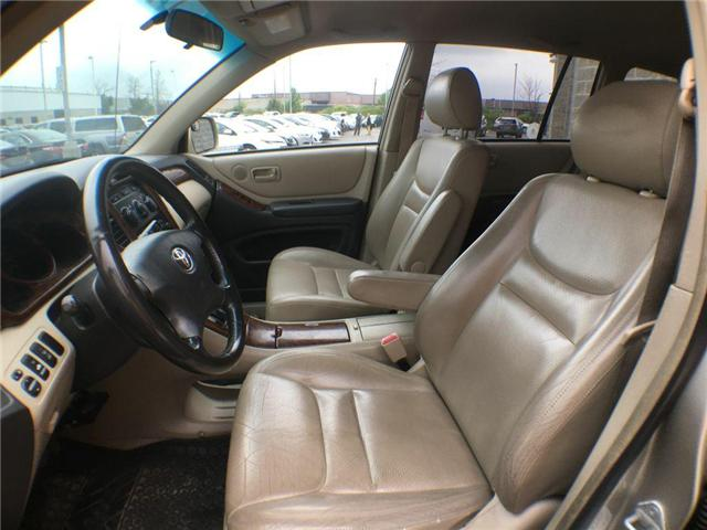 2003 Toyota Highlander BOXING DAY ONLY 4WD V6 B PKG LEATHER, ALLOY WHEELS (Stk: 41100A) in Brampton - Image 4 of 23