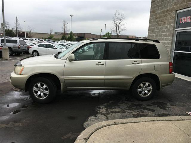 2003 Toyota Highlander BOXING DAY ONLY 4WD V6 B PKG LEATHER, ALLOY WHEELS (Stk: 41100A) in Brampton - Image 7 of 23