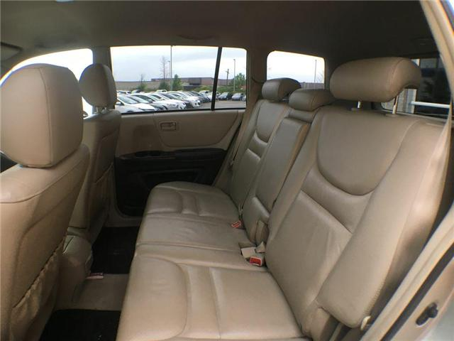 2003 Toyota Highlander BOXING DAY ONLY 4WD V6 B PKG LEATHER, ALLOY WHEELS (Stk: 41100A) in Brampton - Image 9 of 23