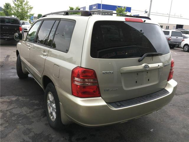 2003 Toyota Highlander BOXING DAY ONLY 4WD V6 B PKG LEATHER, ALLOY WHEELS (Stk: 41100A) in Brampton - Image 10 of 23