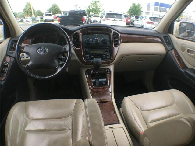 2003 Toyota Highlander BOXING DAY ONLY 4WD V6 B PKG LEATHER, ALLOY WHEELS (Stk: 41100A) in Brampton - Image 14 of 23