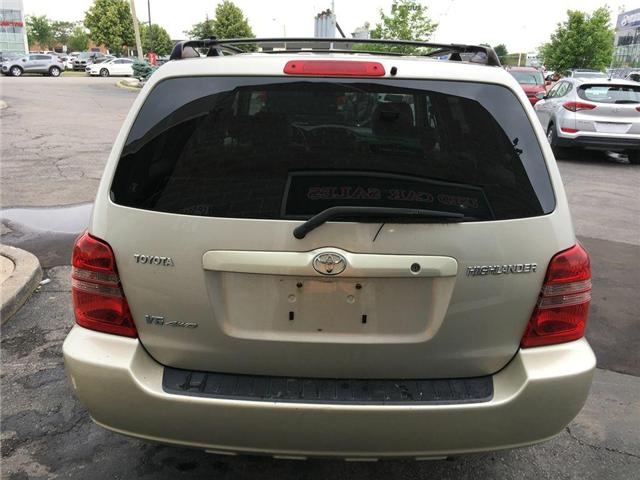 2003 Toyota Highlander BOXING DAY ONLY 4WD V6 B PKG LEATHER, ALLOY WHEELS (Stk: 41100A) in Brampton - Image 15 of 23