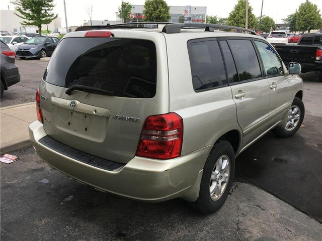 2003 Toyota Highlander BOXING DAY ONLY 4WD V6 B PKG LEATHER, ALLOY WHEELS (Stk: 41100A) in Brampton - Image 17 of 23