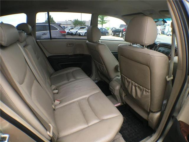 2003 Toyota Highlander BOXING DAY ONLY 4WD V6 B PKG LEATHER, ALLOY WHEELS (Stk: 41100A) in Brampton - Image 19 of 23