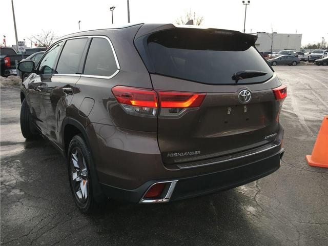 2018 Toyota Highlander AWD LIMITED (Stk: 40062) in Brampton - Image 12 of 27