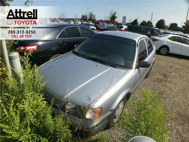 1999 Toyota TERCEL CE AUTOMATIC, AIR CONDITION, 4 DOOR SEDAN (Stk: 41077A) in Brampton - Image 1 of 9