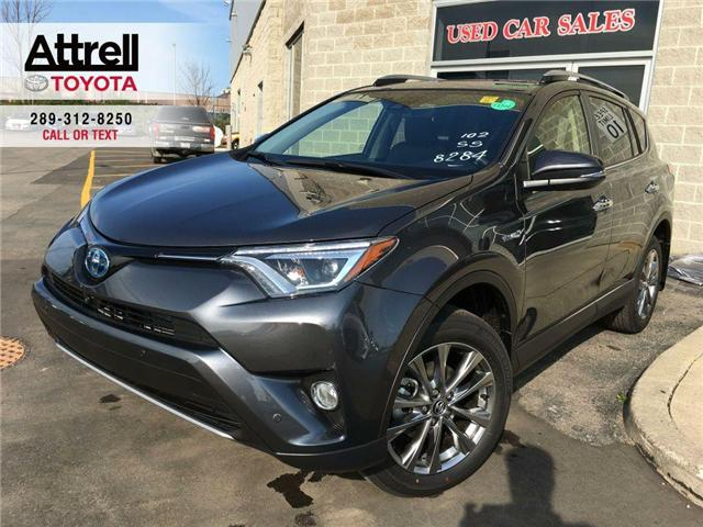 2018 Toyota RAV4 HYBRID LIMITED (Stk: 42027) in Brampton - Image 1 of 27