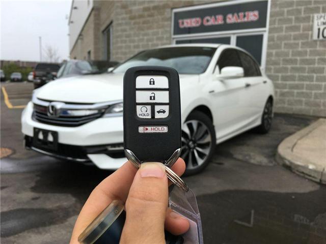2017 Honda ACCORD HYBRID ALLOYS, FOG LAMPS, ABS, PUSH BUTTON START, SPOILER (Stk: 41840AB) in Brampton - Image 2 of 24