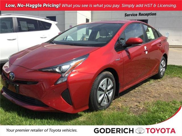 2018 Toyota Prius Technology (Stk: N08818) in Goderich - Image 1 of 6
