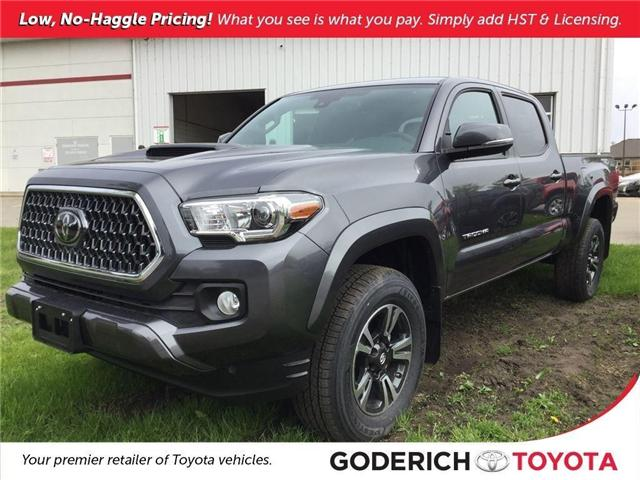 2018 Toyota Tacoma SR5 (Stk: N11318) in Goderich - Image 1 of 2