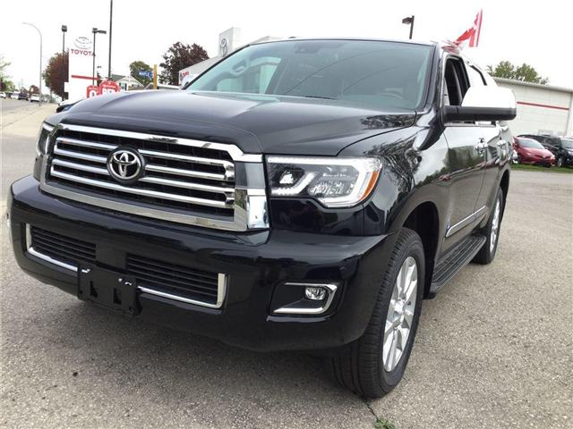 2018 Toyota Sequoia Platinum 5.7L V8 (Stk: N11518) in Goderich - Image 2 of 2