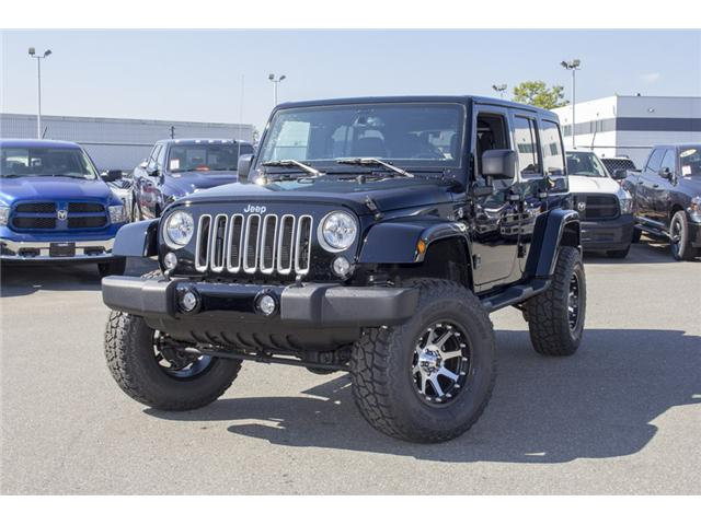 2017 Jeep Wrangler Unlimited Sahara (Stk: H728965) in Surrey - Image 3 of 26