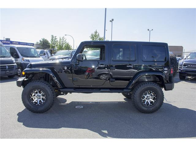 2017 Jeep Wrangler Unlimited Sahara (Stk: H728965) in Surrey - Image 4 of 26