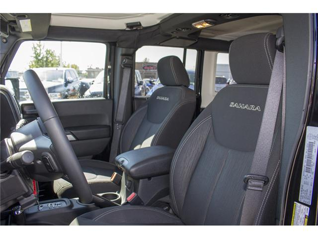 2017 Jeep Wrangler Unlimited Sahara (Stk: H728965) in Surrey - Image 11 of 26