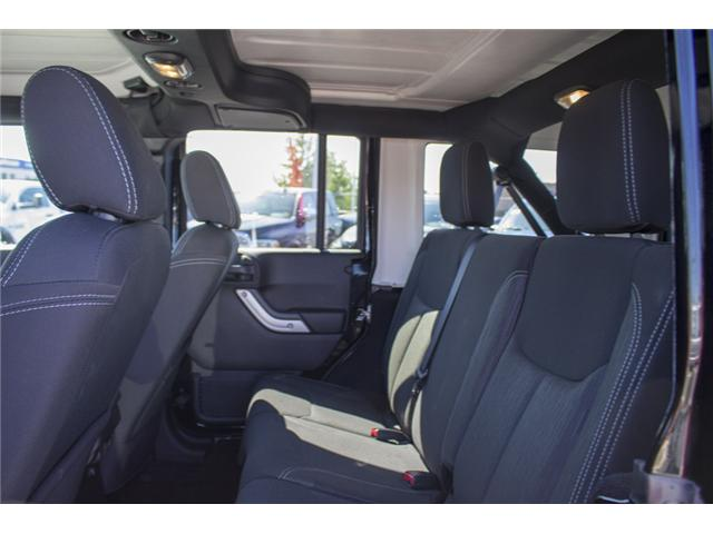 2017 Jeep Wrangler Unlimited Sahara (Stk: H728965) in Surrey - Image 13 of 26
