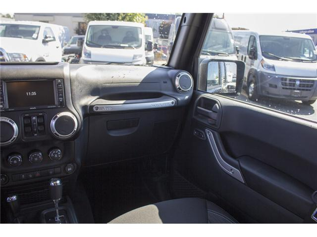 2017 Jeep Wrangler Unlimited Sahara (Stk: H728965) in Surrey - Image 15 of 26