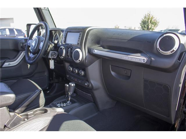 2017 Jeep Wrangler Unlimited Sahara (Stk: H728965) in Surrey - Image 17 of 26