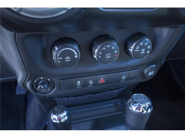 2017 Jeep Wrangler Unlimited Sahara (Stk: H728965) in Surrey - Image 23 of 26
