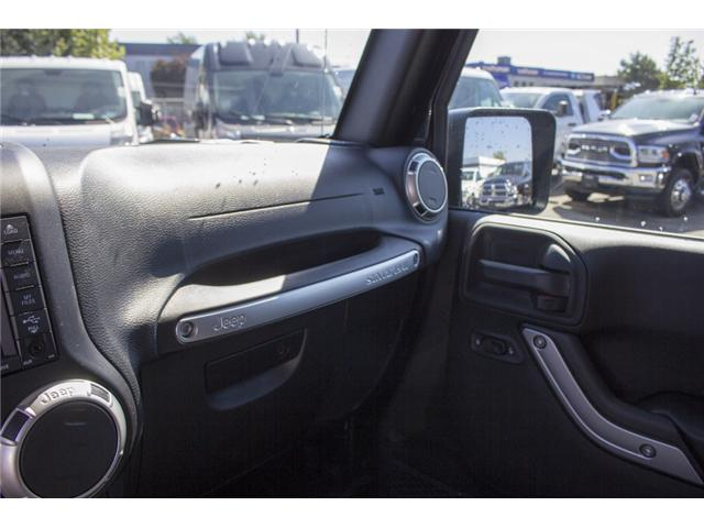 2017 Jeep Wrangler Unlimited Sahara (Stk: H728965) in Surrey - Image 25 of 26