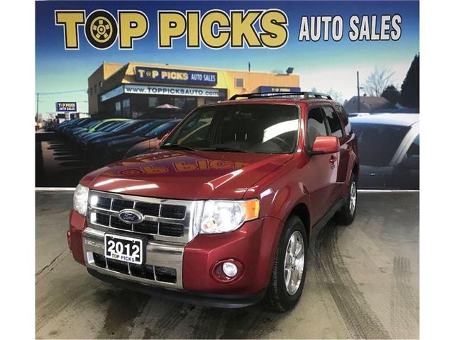 2012 Ford Escape Limited (Stk: 95567) in NORTH BAY - Image 1 of 16