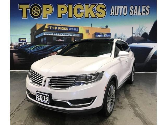 2016 Lincoln MKX Reserve (Stk: 31430) in NORTH BAY - Image 1 of 18