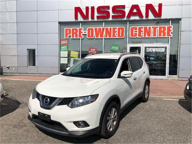 2016 Nissan Rogue SV-FWD-PUSH STARTER AND MUCH MORE.... (Stk: U2940) in Scarborough - Image 1 of 18