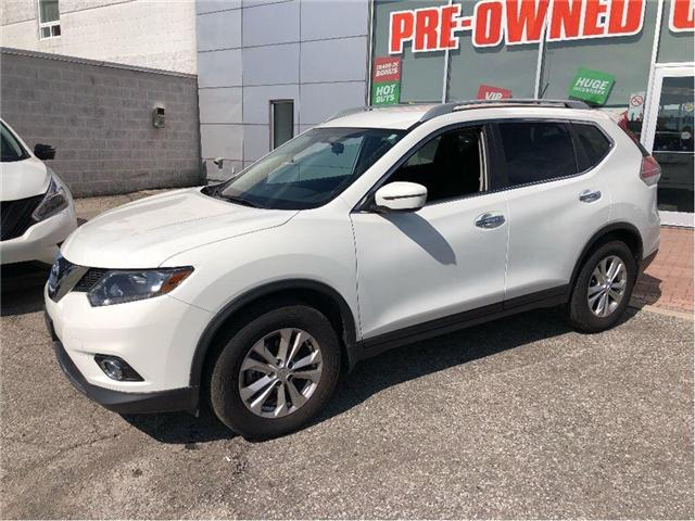 2016 Nissan Rogue SV-FWD-PUSH STARTER AND MUCH MORE.... (Stk: U2940) in Scarborough - Image 2 of 18