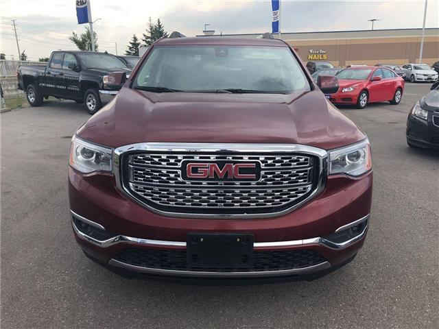 2017 GMC Acadia Denali BLUETOOTH|LEATHER|NAVI| (Stk: PW17146) in BRAMPTON - Image 2 of 25