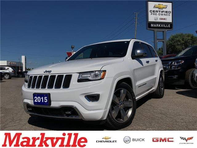 2015 Jeep Grand Cherokee OVERLAND-DIESEL-CERTIFIED PRE-OWNED (Stk: 617874A) in Markham - Image 1 of 23