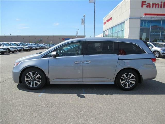 2017 Honda Odyssey Touring, FULLY LOADED! (Stk: U03255) in Brampton - Image 2 of 30