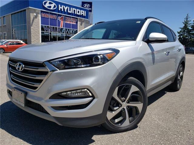 2017 Hyundai Tucson 1.6 Turbo-Panorama roof-Leather (Stk: OP9855) in Mississauga - Image 1 of 19