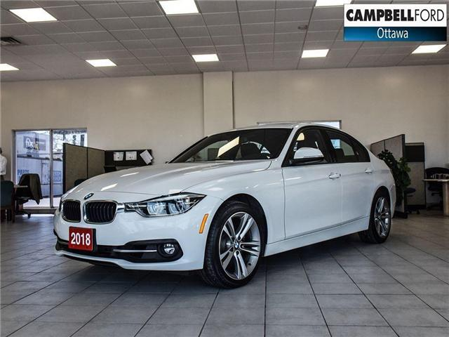 2018 BMW 3 Series 330i xDrive NAV-AWD-LEATHER-POWER ROOF (Stk: 941350) in Ottawa - Image 1 of 24