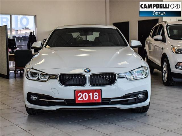 2018 BMW 3 Series 330i xDrive NAV-AWD-LEATHER-POWER ROOF (Stk: 941350) in Ottawa - Image 2 of 24