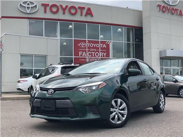 2015 Toyota Corolla LE (Stk: P2140) in Bowmanville - Image 1 of 19