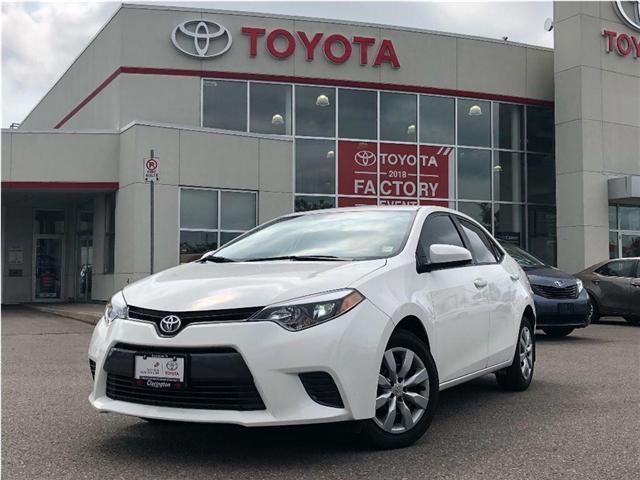 2016 Toyota Corolla LE (Stk: 18418A) in Bowmanville - Image 1 of 9