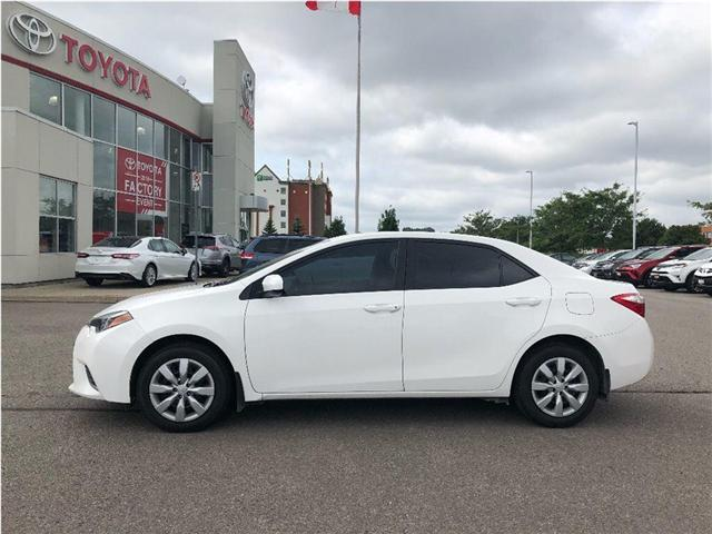 2016 Toyota Corolla LE (Stk: 18418A) in Bowmanville - Image 2 of 9