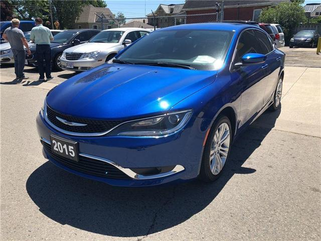 2015 Chrysler 200 Limited (Stk: 1C3CCC) in Belmont - Image 1 of 20