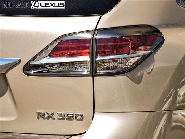 2015 Lexus RX 350  (Stk: L0332) in Ottawa - Image 9 of 30