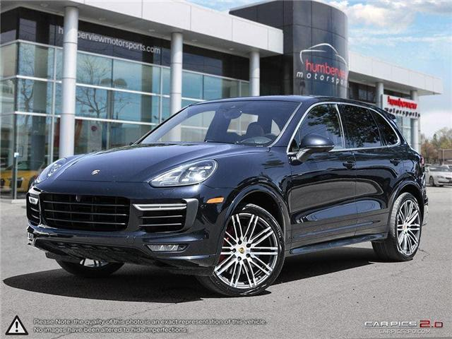 2016 Porsche Cayenne Turbo (Stk: 18HMS402) in Mississauga - Image 1 of 27
