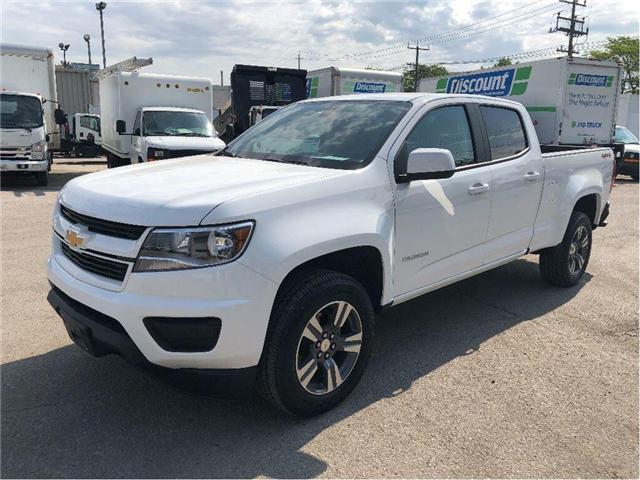 2018 Chevrolet Colorado Used 2018 GM Business Elite Demo Colorado (Stk: PU85069) in Toronto - Image 1 of 18