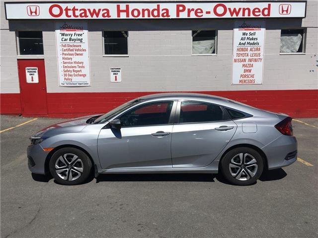 2017 Honda Civic Sedan lx (Stk: H7093-0) in Ottawa - Image 1 of 21