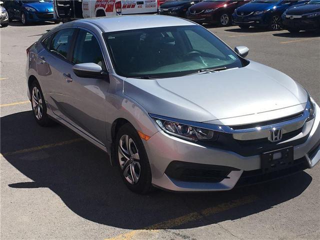 2017 Honda Civic Sedan lx (Stk: H7093-0) in Ottawa - Image 4 of 21