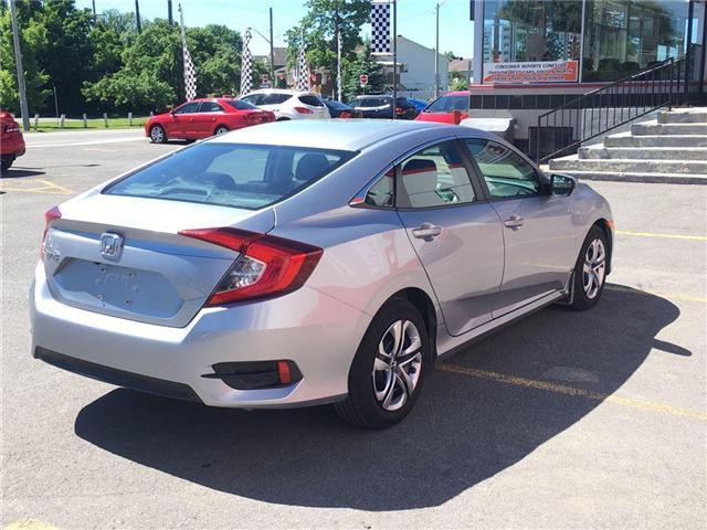 2017 Honda Civic Sedan lx (Stk: H7093-0) in Ottawa - Image 6 of 21